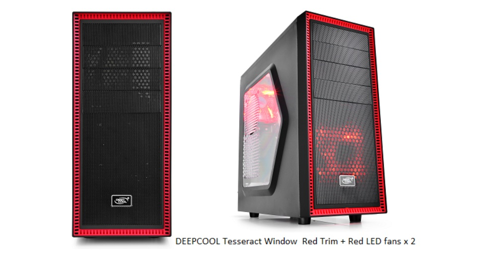 Deepcool Tesseract Sw Mid Tower Computer Case Glob3trotters
