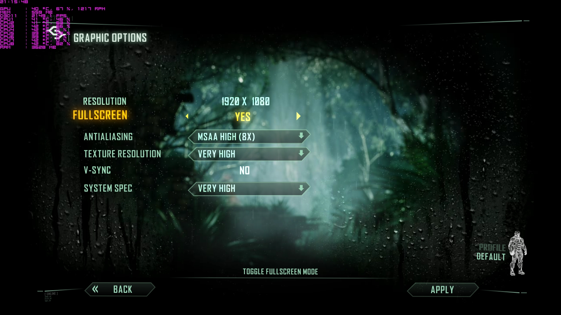 how to see fps in far cry 4 msi afterburner