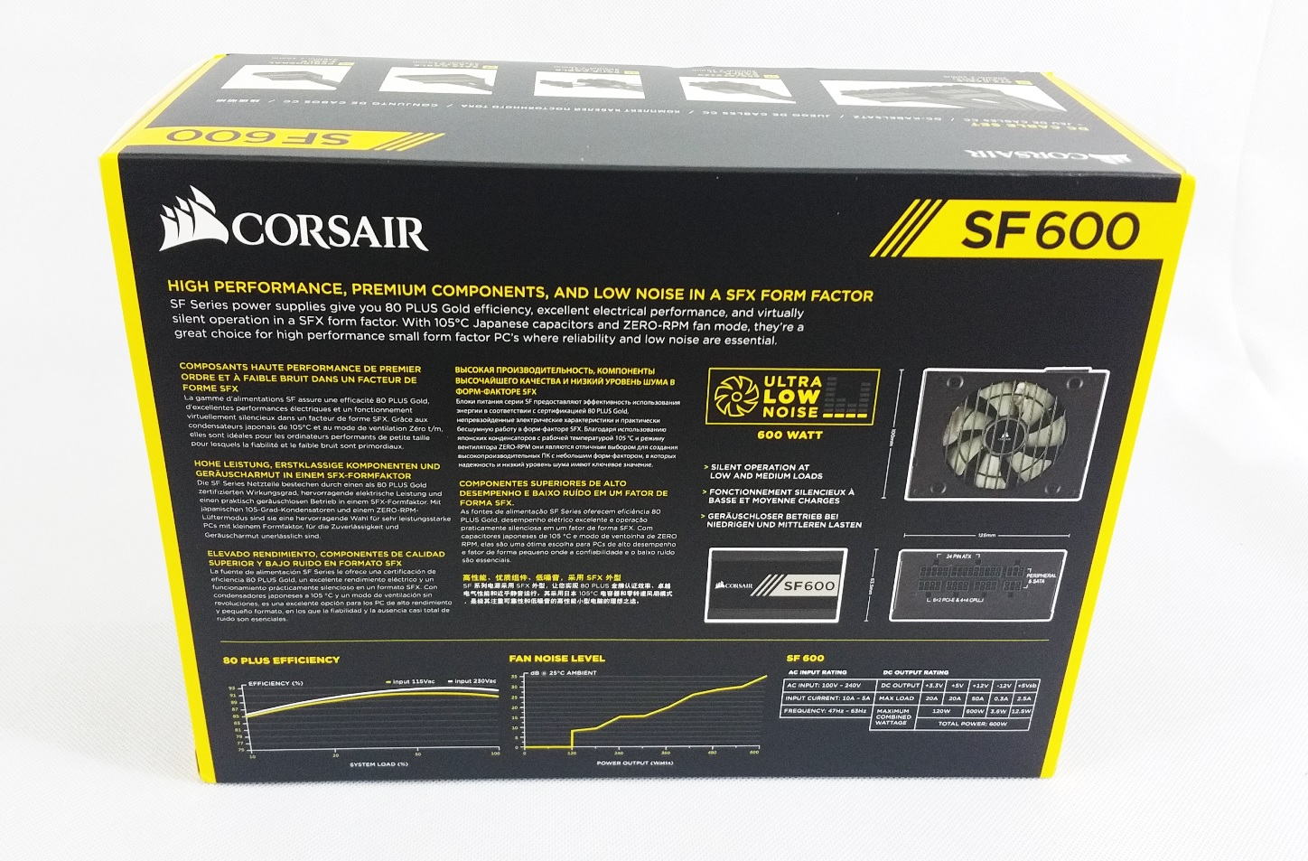 Corsair SF600 SFX PSU Preview | Glob3trotters