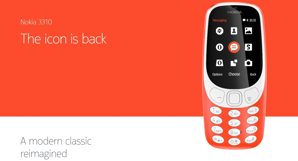 The Nokia 3310 is Back !