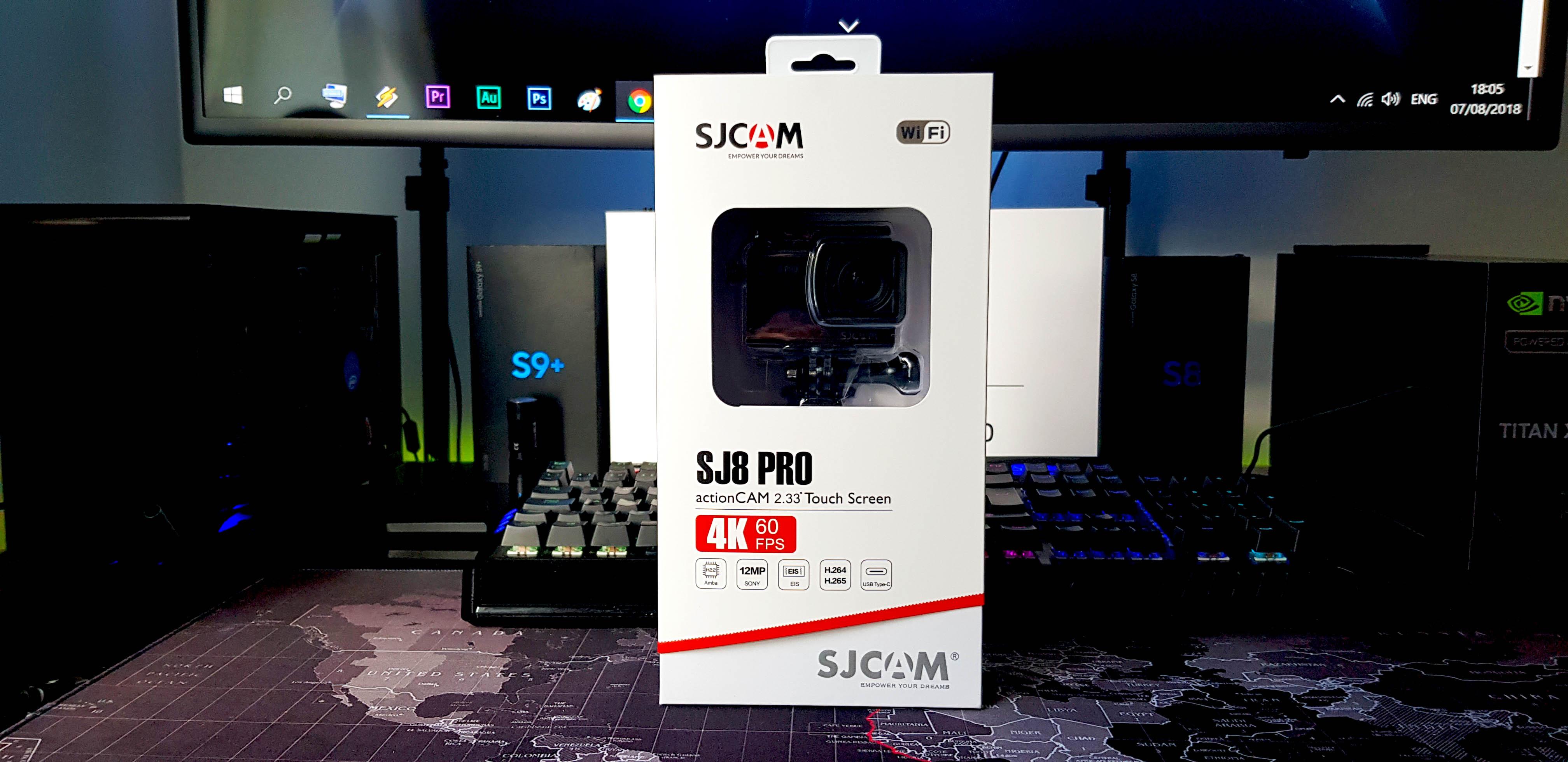 SJCAM SJ8 PRO Mastering 4K60FPS | Glob3trotters