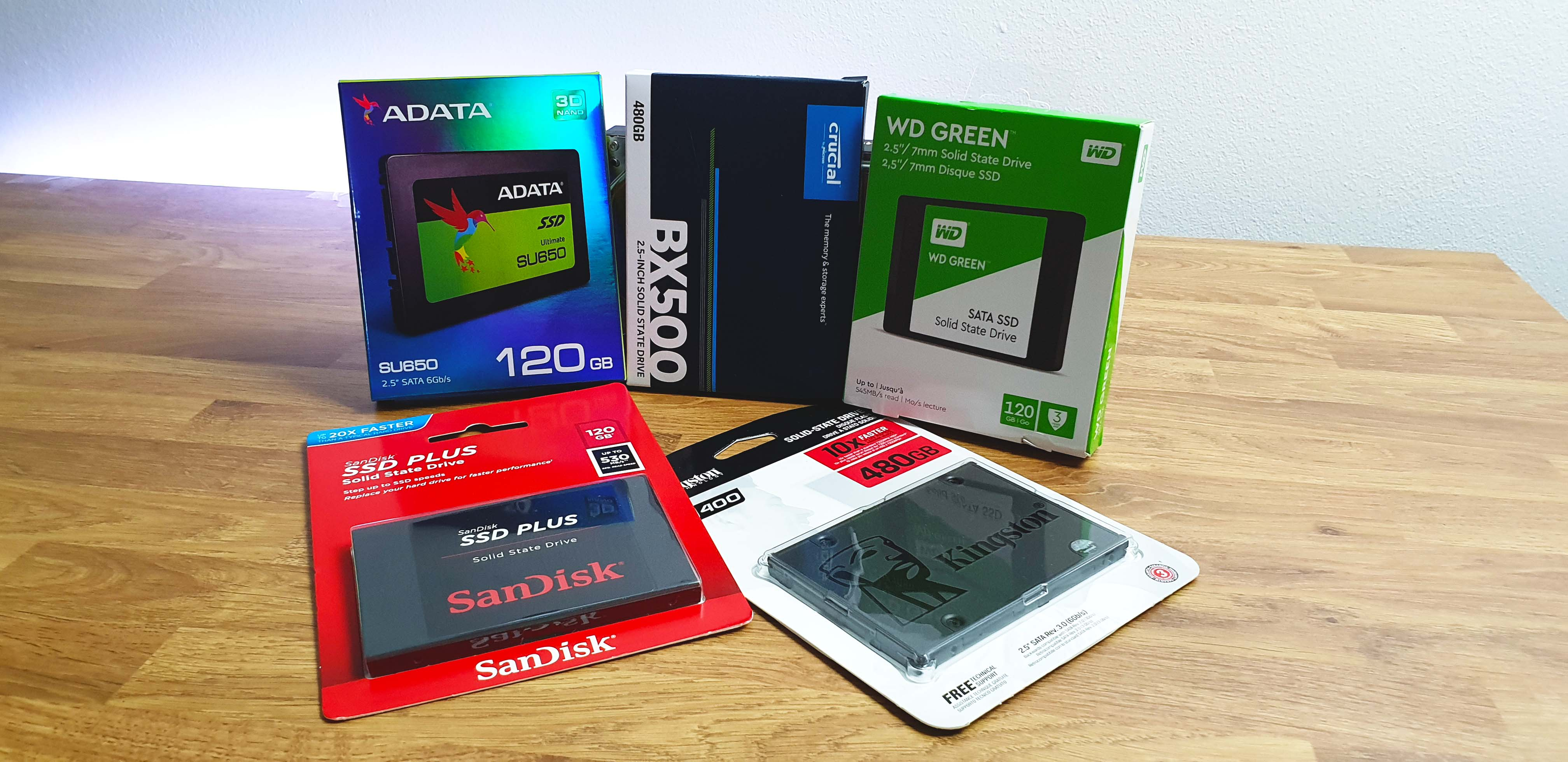 Ssd Value Roundup Crucial Bx500 Best Bang For Buck Kingston A400 Wd Green 240gb 25 Sata When Ssds Solid State Drives First Came Out As Per Any New Tech They Were Expensive Because Finally Promised Us The Revolution We Expecting